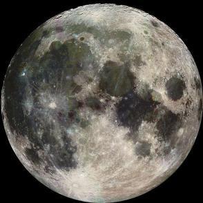 la luna, segundo rayo