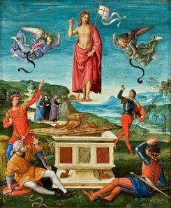 La resurreccion de Cristo. Rafael