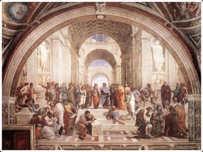 Los pensamientos y concepciones de los griegos no fueron traídos a la existencia simplemente por la actividad interna del alma, sino que nacieron como desde los propios objetos.