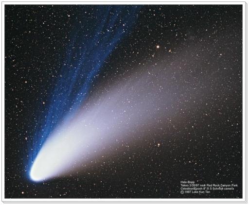 Podemos hablar de los cometas como de constantes purificadores de la atmósfera espiritual dentro del sistema solar.