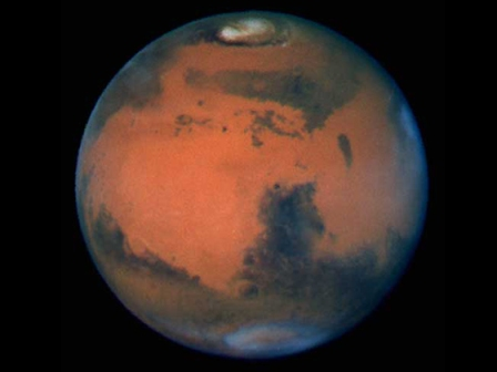 Marte-por-Hubble