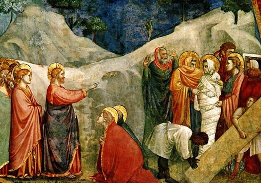"""Resurrección-de-Lázaro""-por-Giotto-di-Bondone"