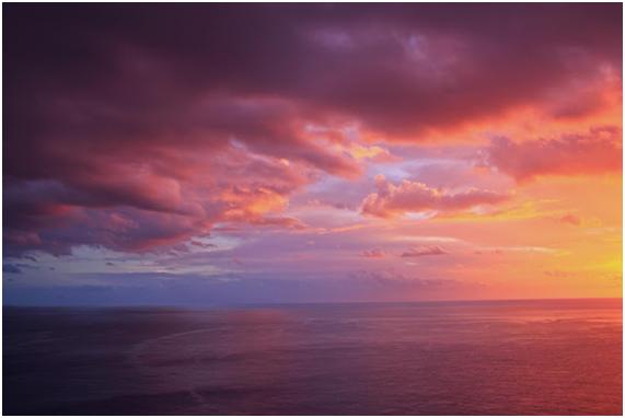 luz del amanecer