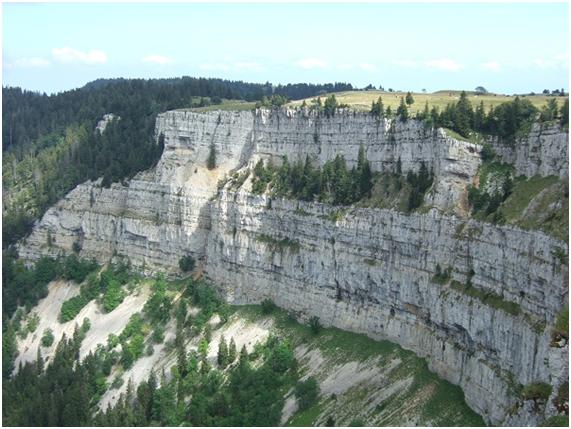montañas del jura