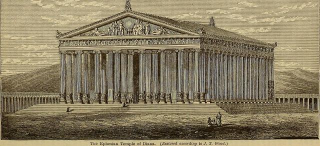 templo de diana en efeso