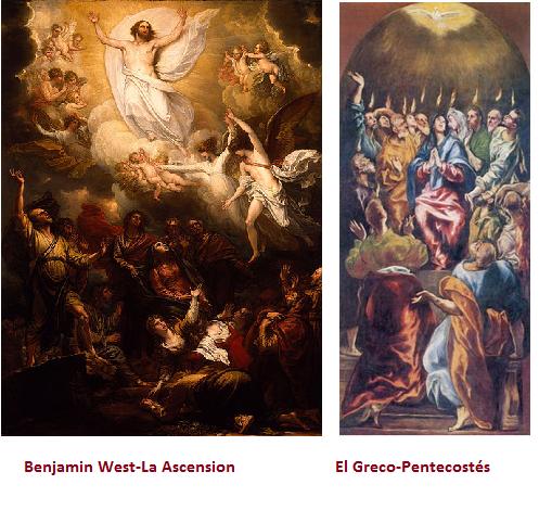 ascension y pentecostes
